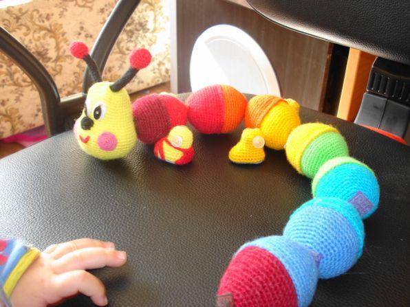 Вязание и развитие детей 100