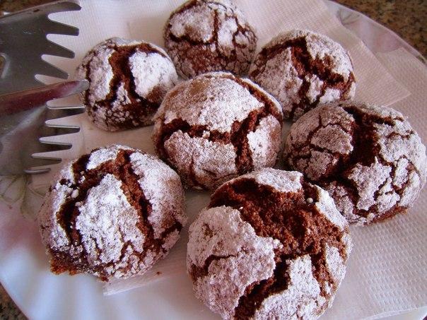 итальянское шоколадное печенье рецепт с фото яйца бумаге так